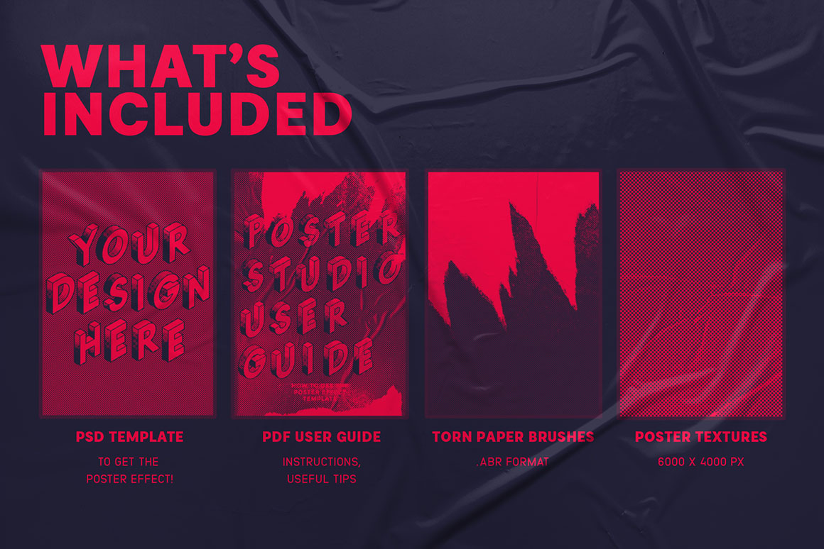 Poster Studio for Photoshop - Dealjumbo com — Discounted design bundles  with extended license!