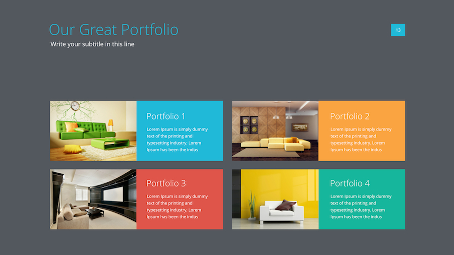 Powerpointkeynote presentation template dealjumbo 5light 64dark toneelgroepblik Choice Image