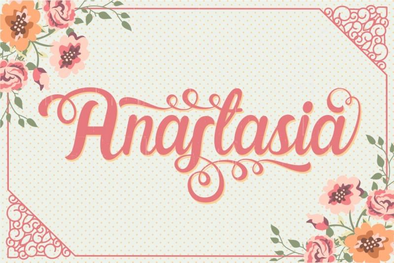 ANASTASIA TYPEFACE 1