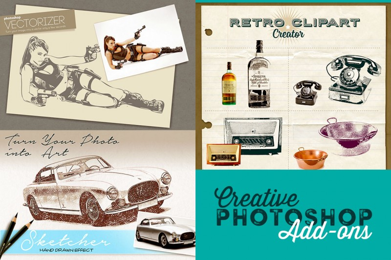 Creative Photoshop Add-ons
