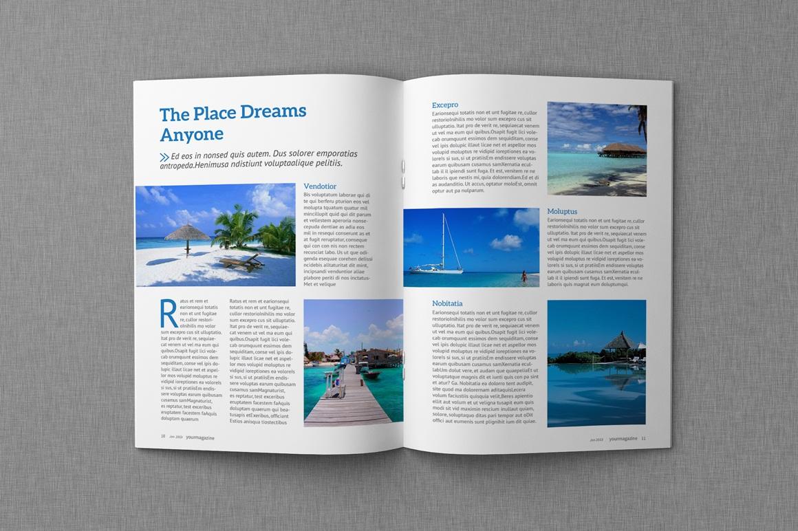 Magazine & Proposal InDesign Templates - Dealjumbo.com ...