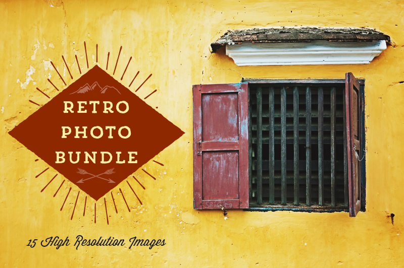 Retro Photo Bundle Preview Image