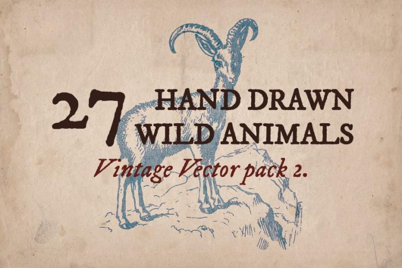 Vintage_wild_animals_1