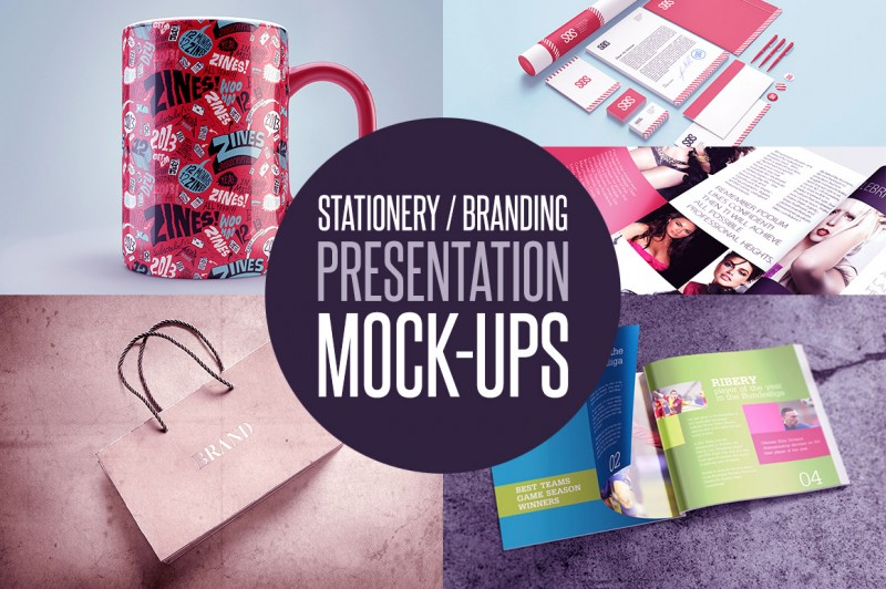 Stationery / Branding Presentation Mock-ups