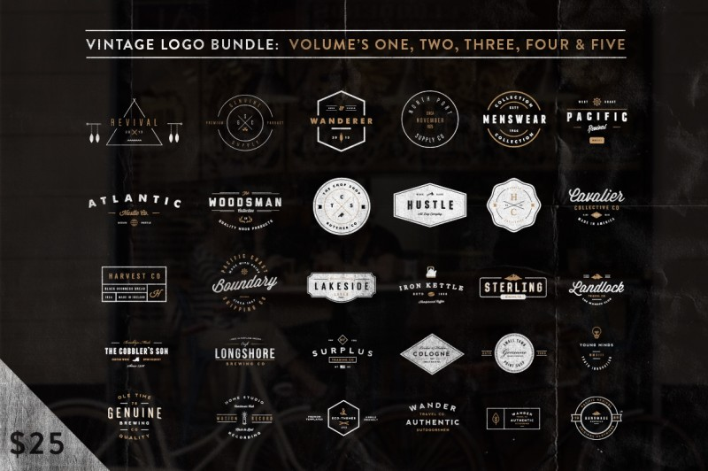 Only Best Sellers – the Mega Bundle with 34 items from 10 premium design shops