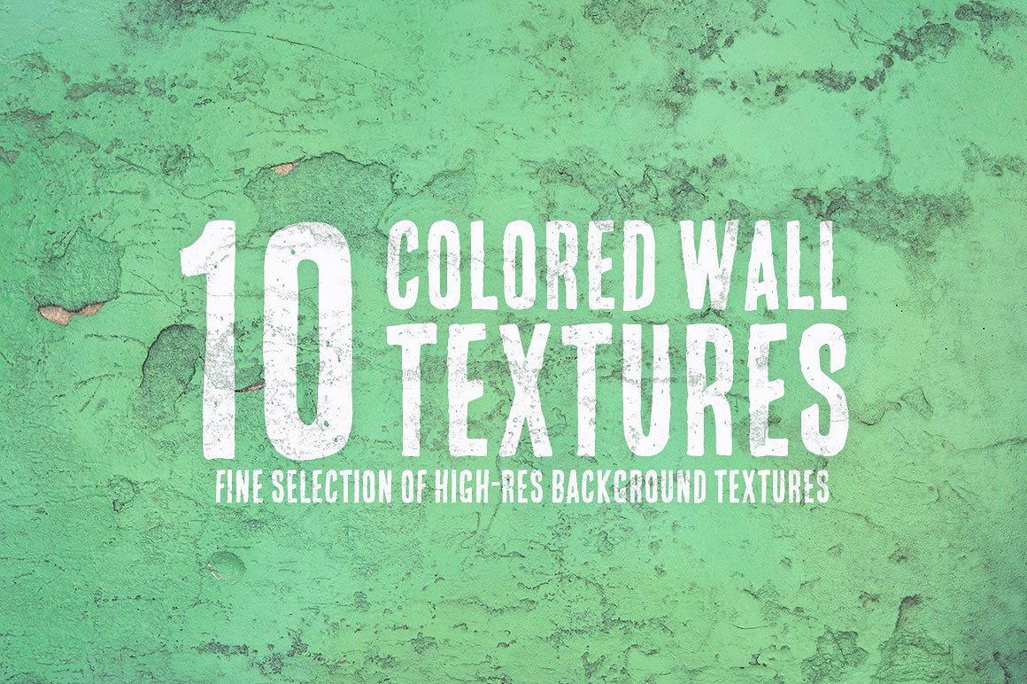 10 Colored Wall Textures1