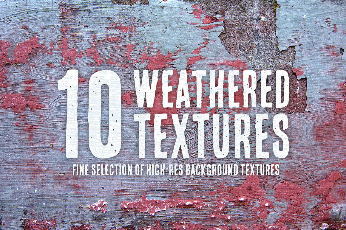 10 Weathered Textures1