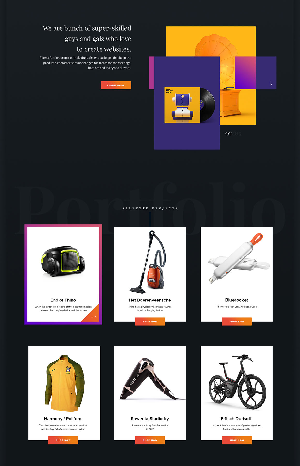 10XFreePSDWebsiteTemplate4