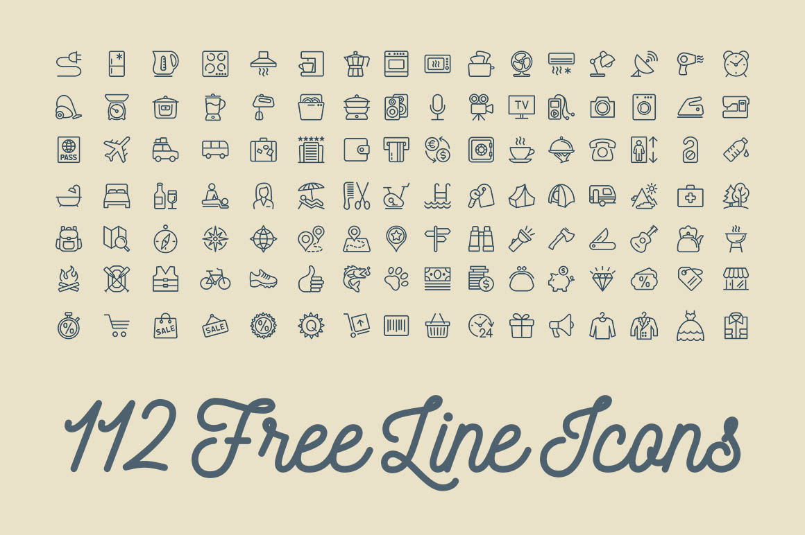 112lineicons