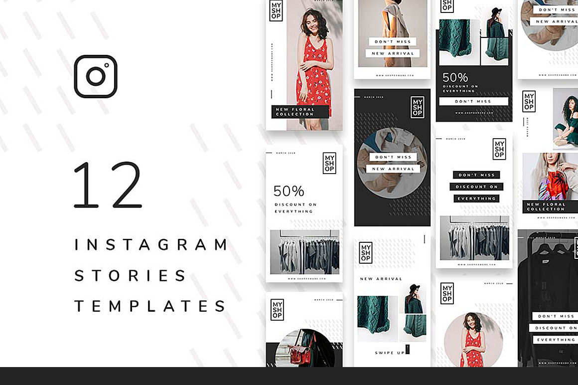 12 Shop Instagram Stories Templates - Dealjumbo com
