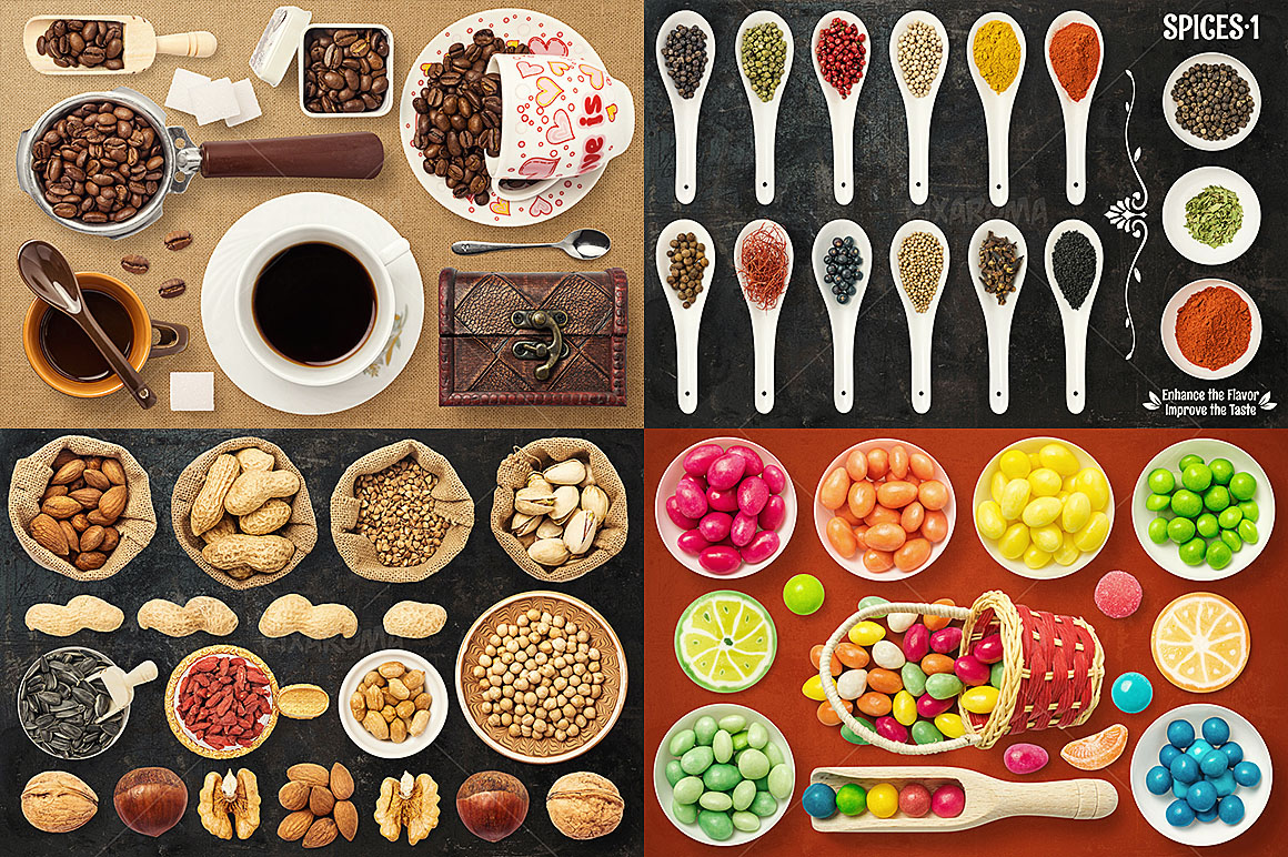 - 1200+ Isolated Food Images Bundle Preview 10
