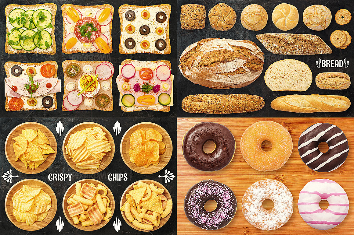 - 1200+ Isolated Food Images Bundle Preview 11