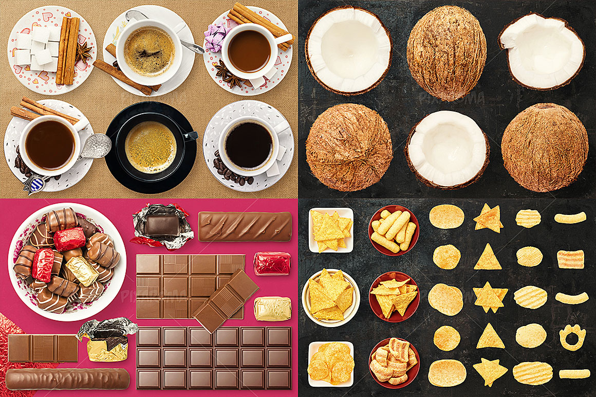 - 1200+ Isolated Food Images Bundle Preview 14