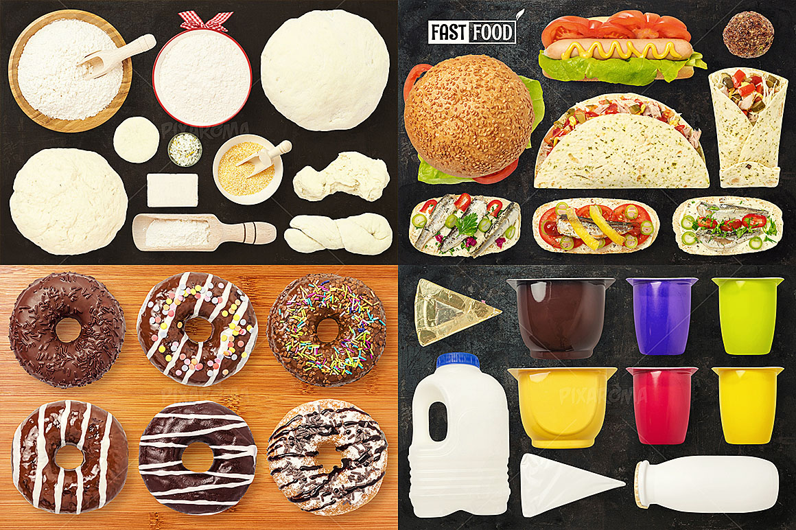 - 1200+ Isolated Food Images Bundle Preview 16