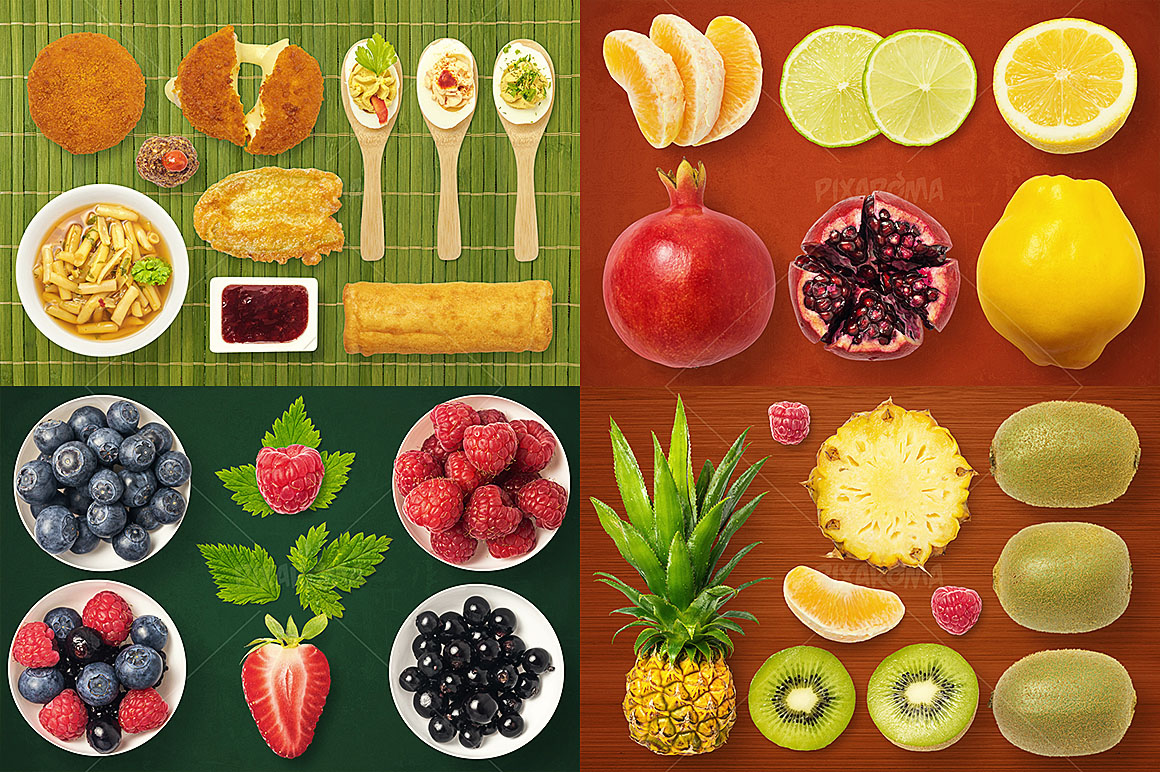 - 1200+ Isolated Food Images Bundle Preview 18