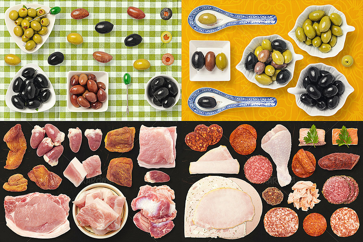 - 1200+ Isolated Food Images Bundle Preview 24