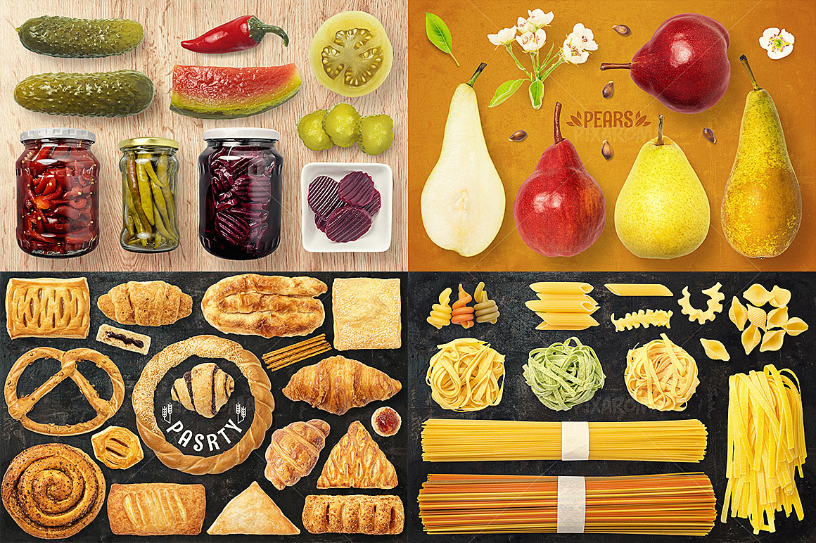 - 1200+ Isolated Food Images Bundle Preview 26