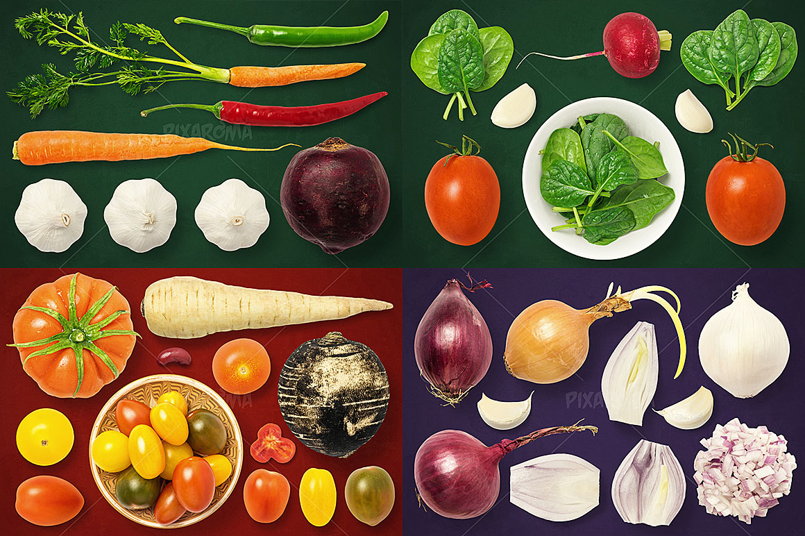 - 1200+ Isolated Food Images Bundle Preview 33
