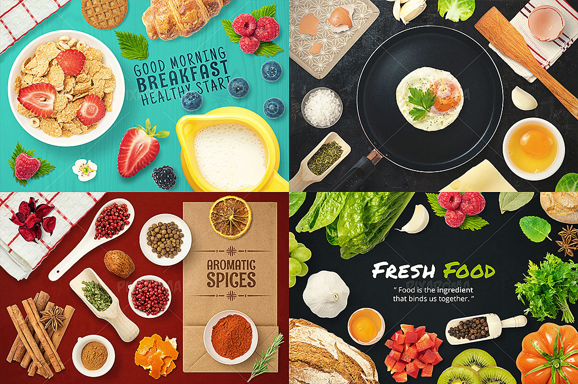 - 1200+ Isolated Food Images Bundle Preview 4
