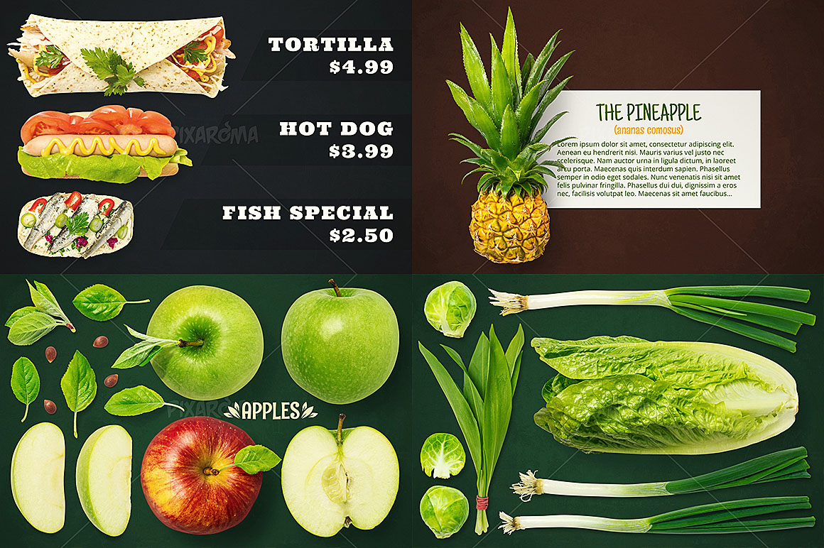 - 1200+ Isolated Food Images Bundle Preview 6