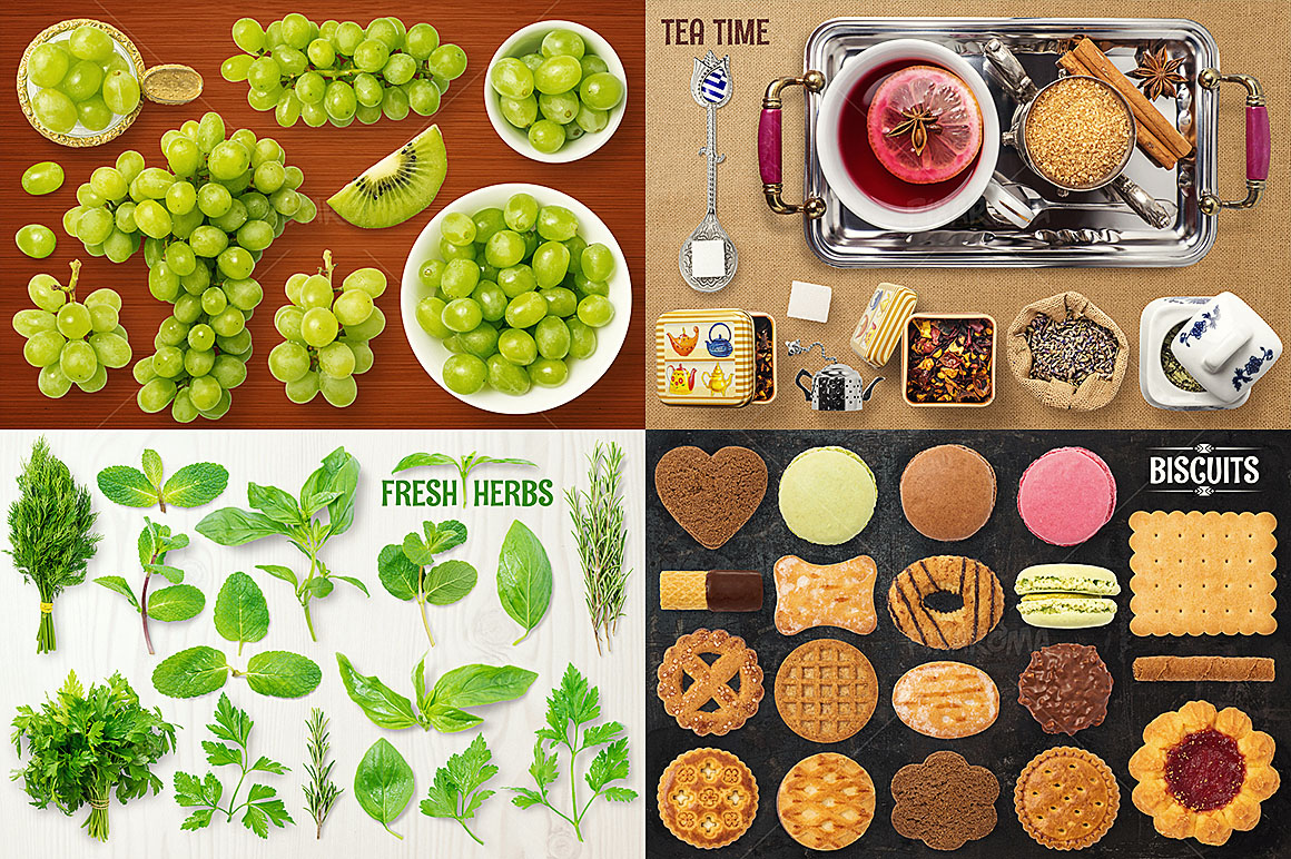 - 1200+ Isolated Food Images Bundle Preview 8