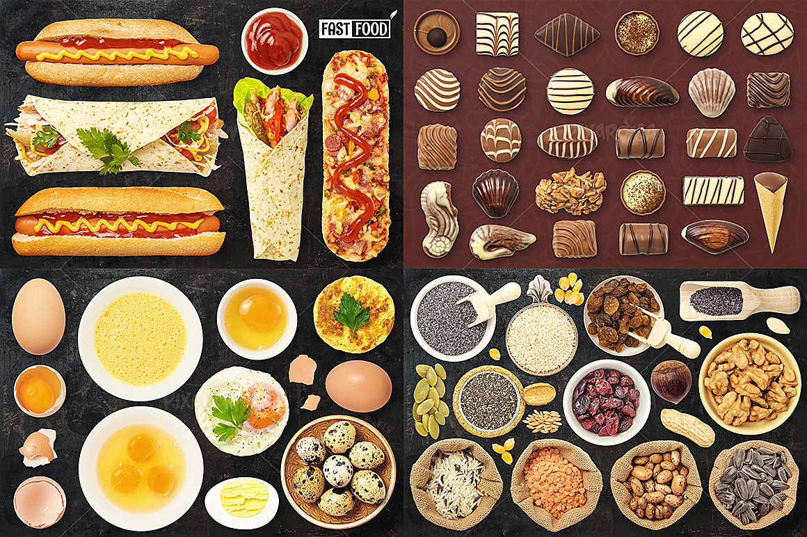 - 1200+ Isolated Food Images Bundle Preview 9