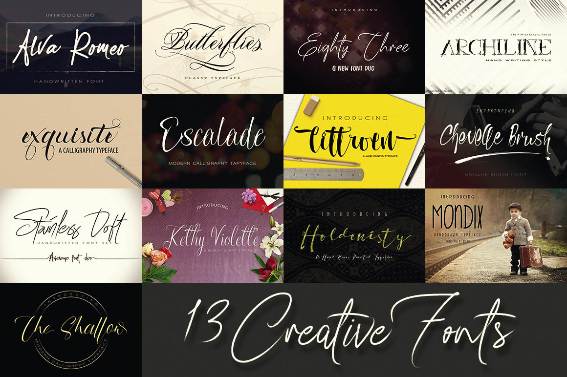 13CreativeFonts