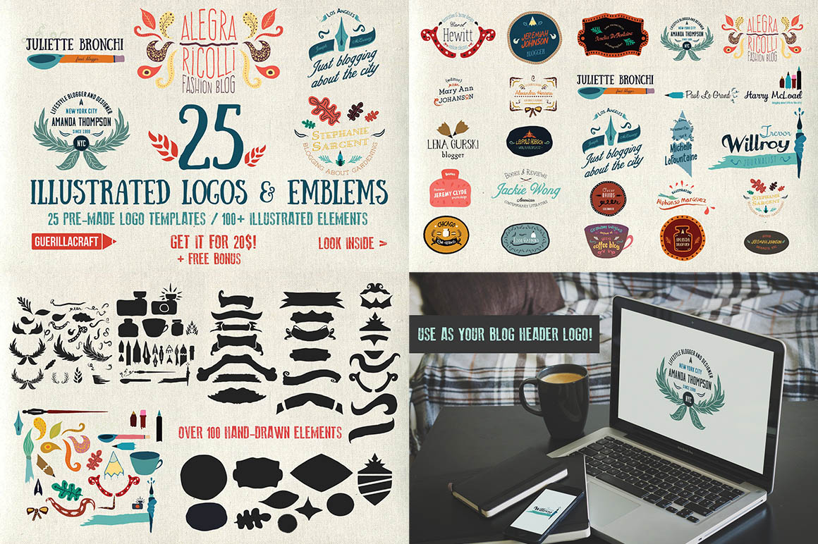 25-illustrated-logos-and-emblems