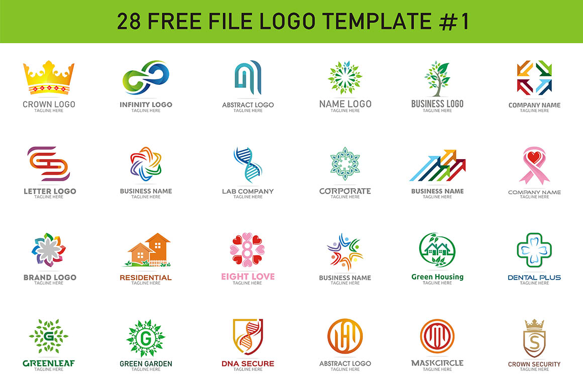 28 Free_File Logo Template_1