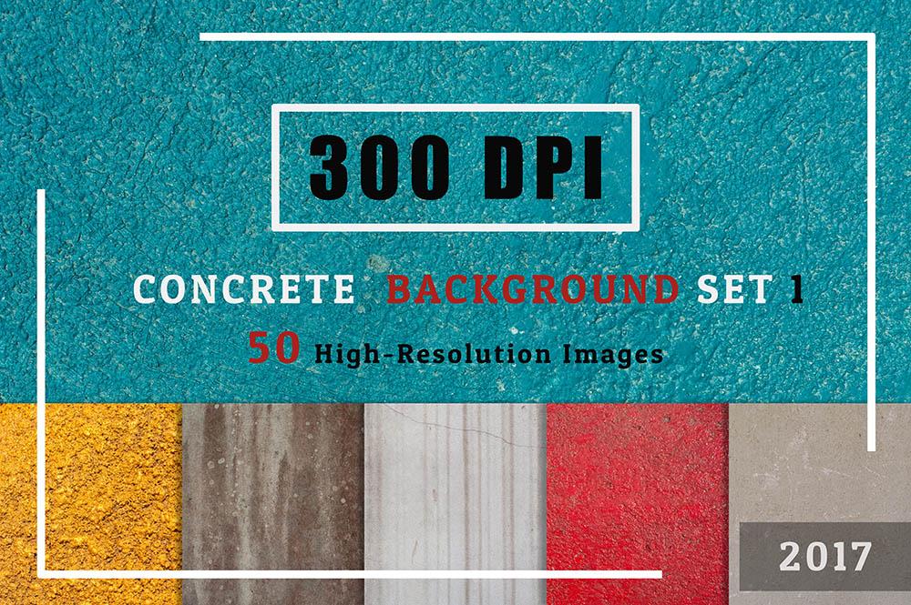 300-DPI-of-50-Concrete-Textures-Background-Set-01