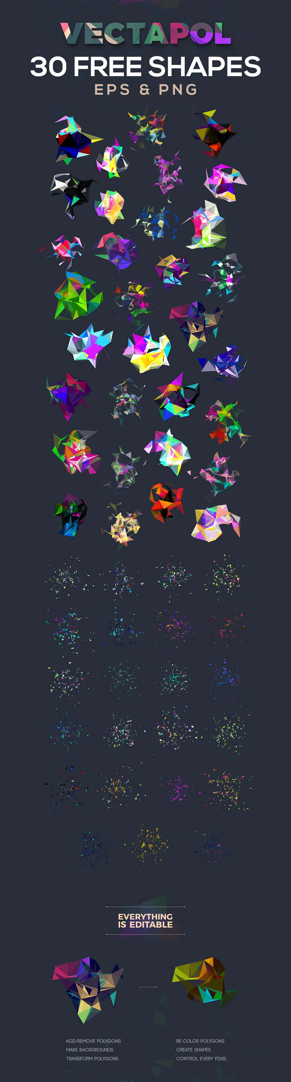 30FreeVectorPolygons2