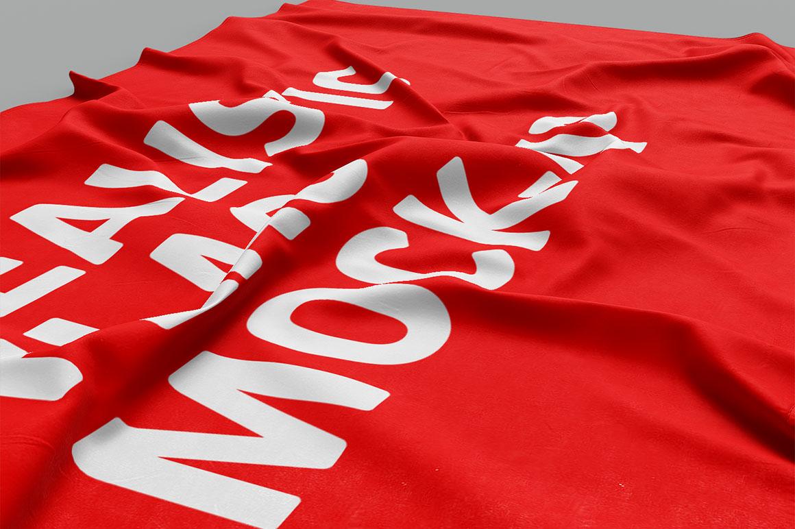 3D Flag - Free Mockup - Dealjumbo com — Discounted design