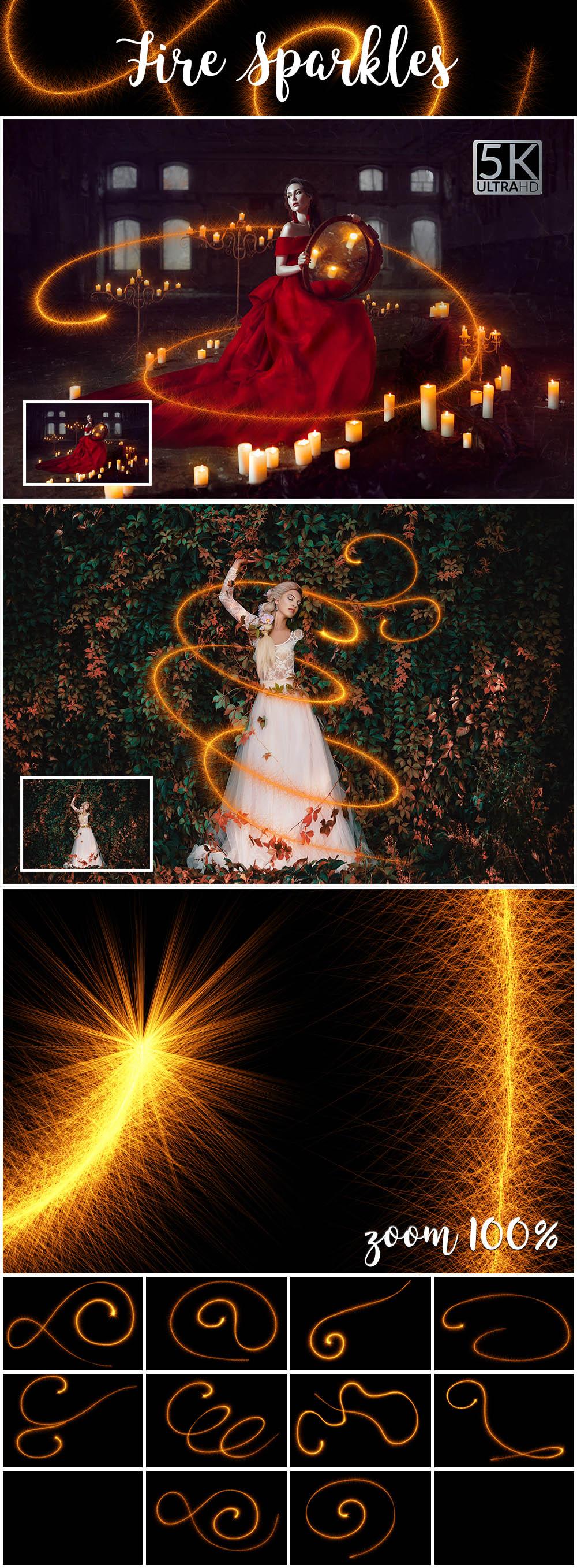 5 - Fire Sparkles