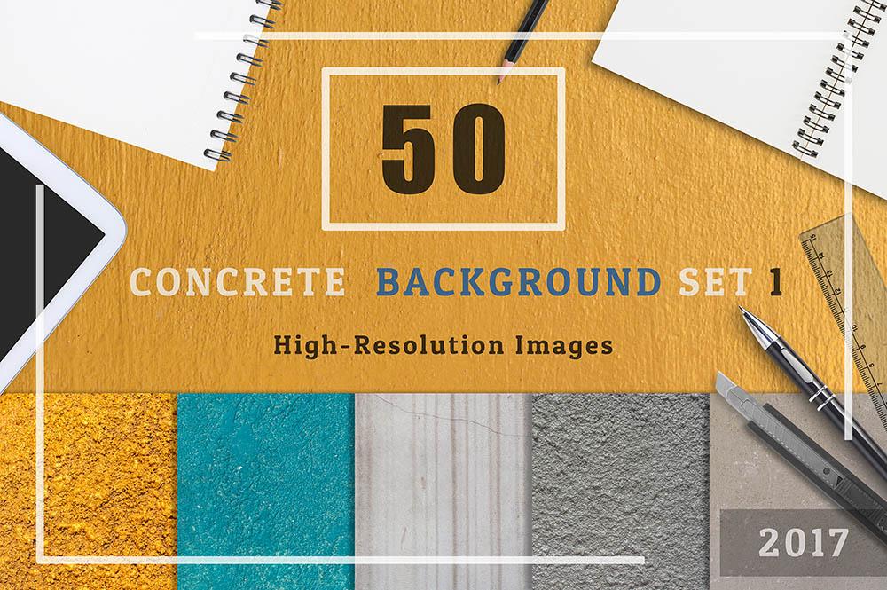 50-Concrete-Textures-Background-Set-01