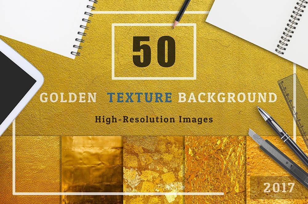 50-Golden-Textures-Background-Set-01