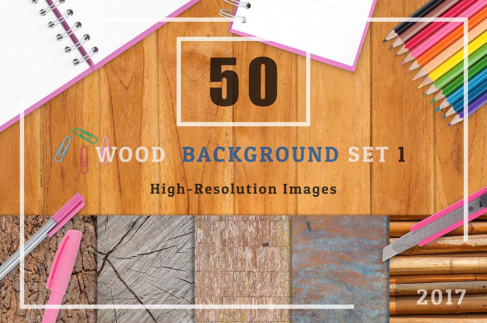 50-Wood-Textures-Background-Set-01