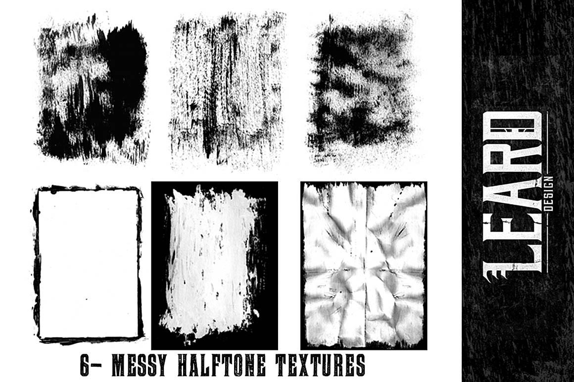6MessyHalftoneTextures1