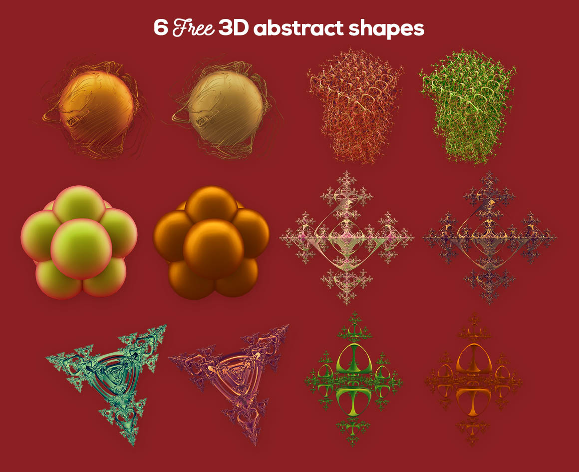 6abstract3DshapesDealjumbo2
