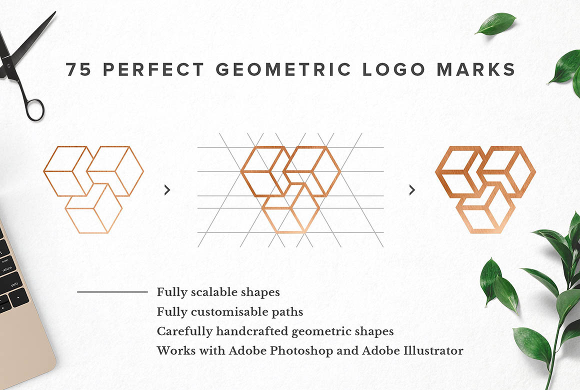 75 Geometric Logo Bundle5