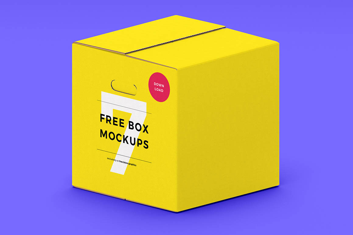 7 free paper box mockups dealjumbo com discounted design bundles