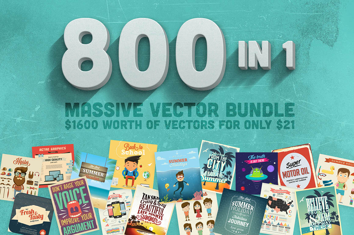 800in1VectorBundle01