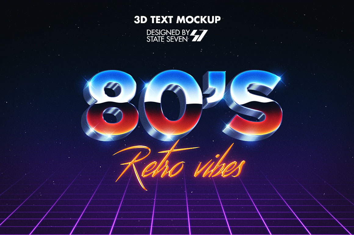 80s Style - Free Text Effect - Dealjumbo com — Discounted