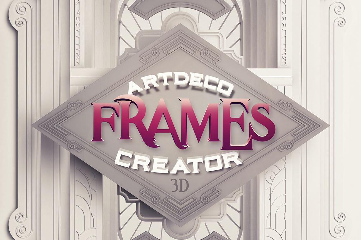 ArtDeco3Dframes1
