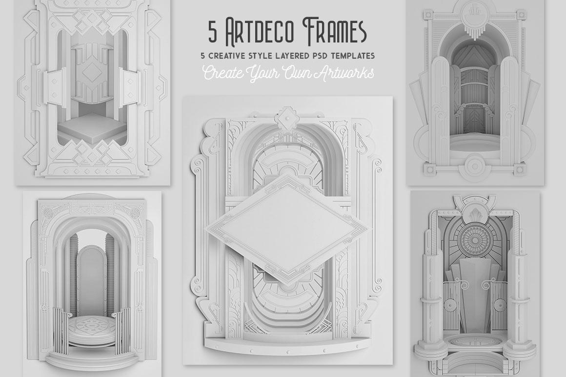 ArtDeco3Dframes2