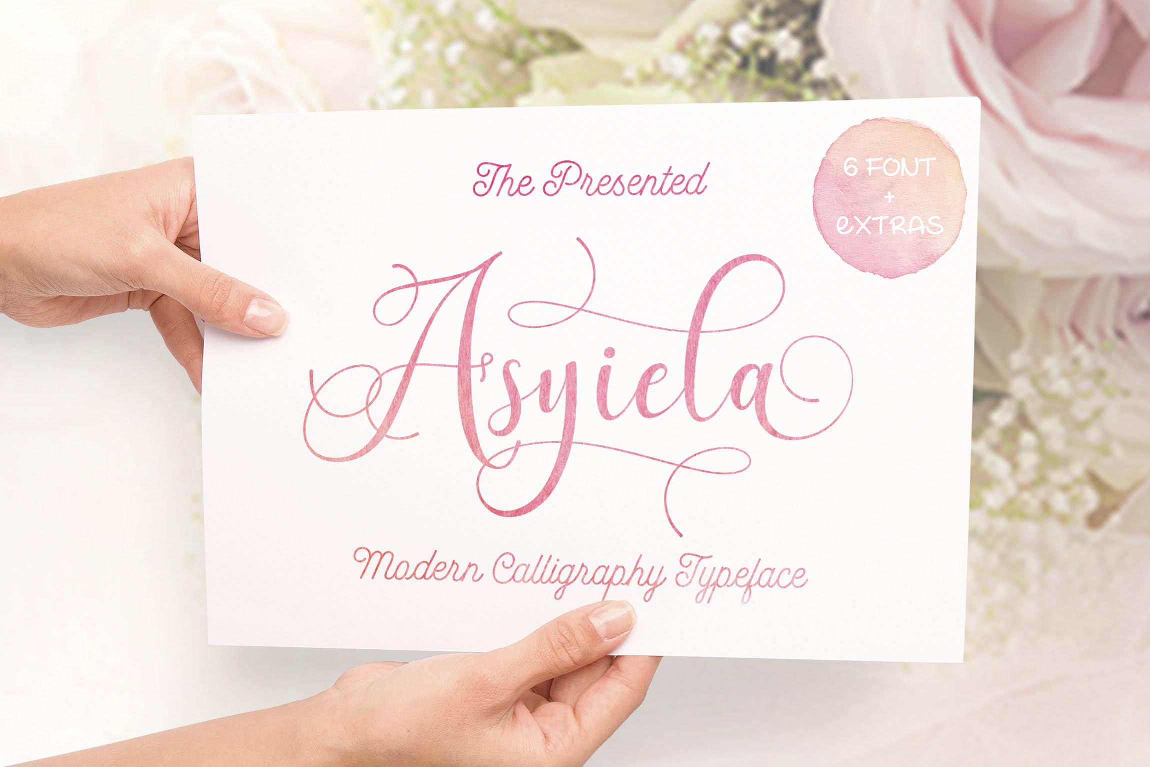 Asyiela Free Font 1
