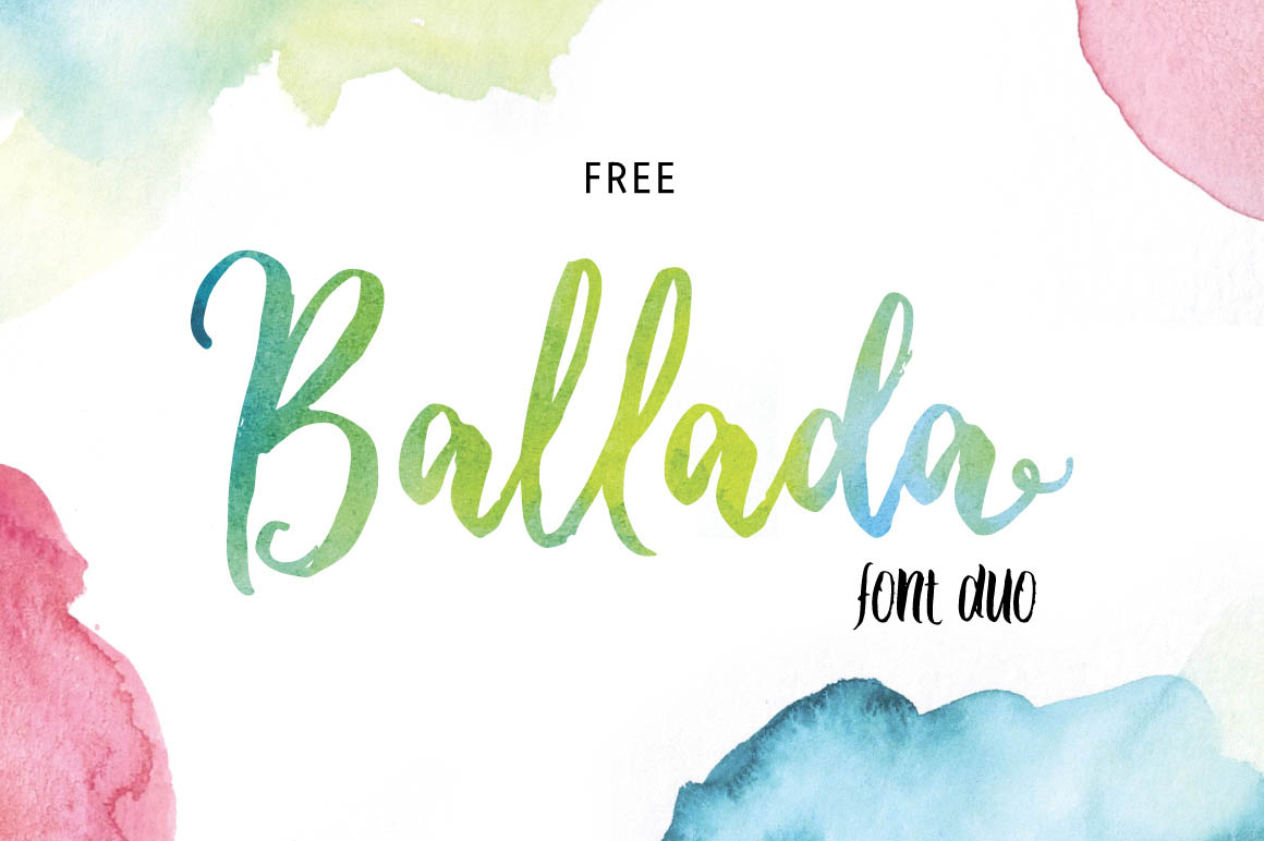 Ballada-free-font-duo-1