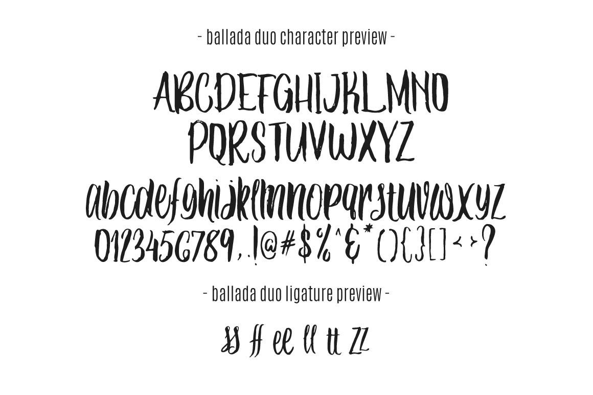 Ballada-free-font-duo-5