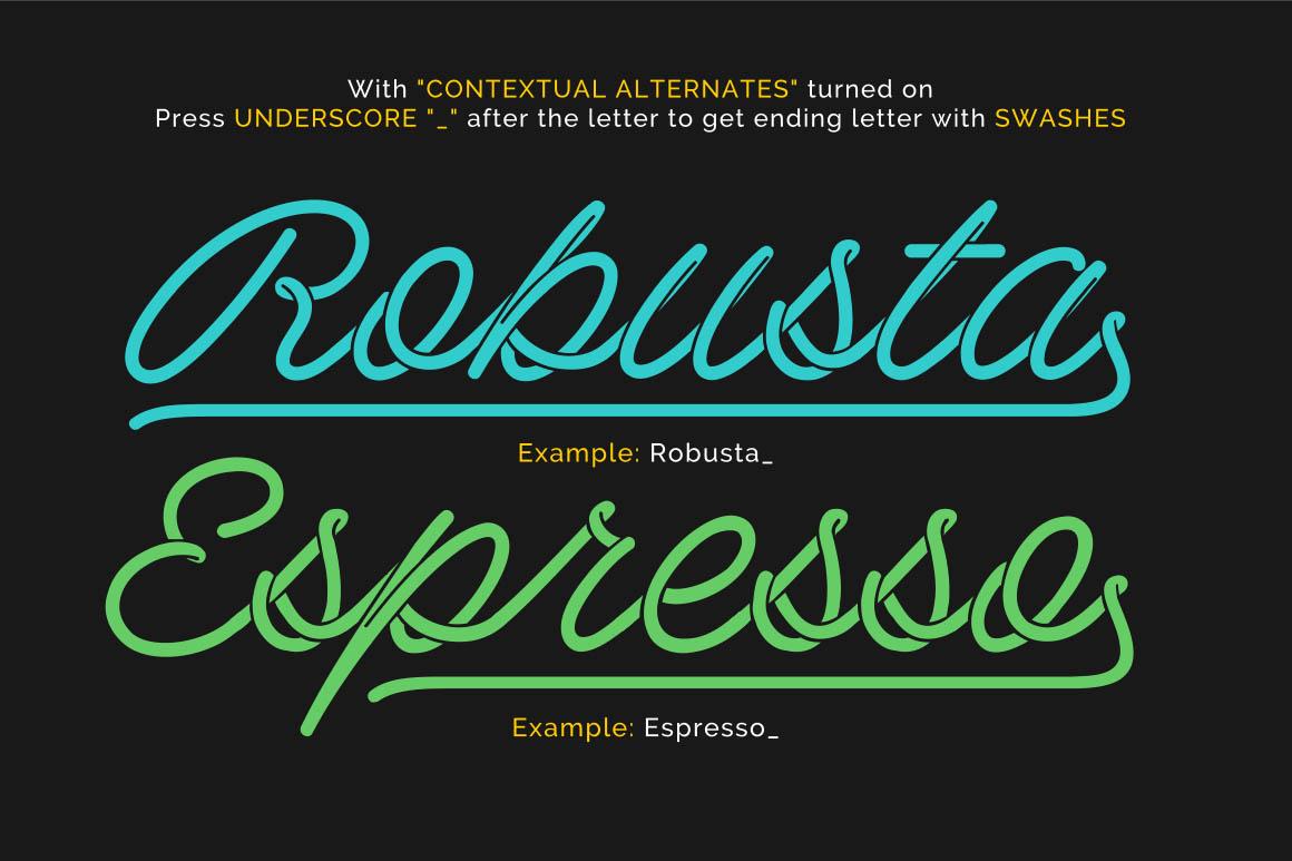 Barista-Script-free-font-3