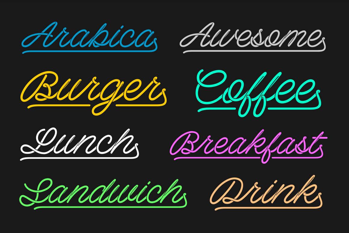 Barista-Script-free-font-6