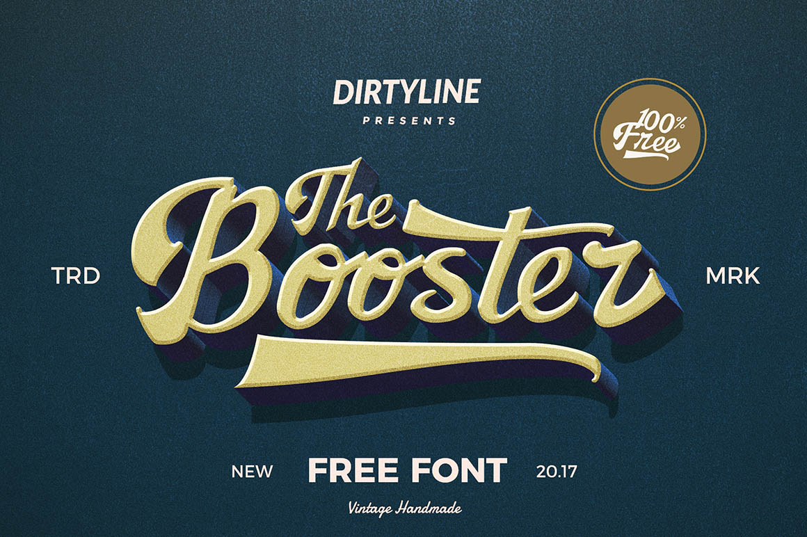 Booster-free-font-1